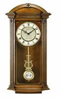 Bulova Hartwick Traditional Triple Chime Wall Clock