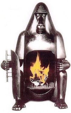 Finally, the fireplace I've been searching for: the Babouin fireplace from François-Xavier and Claude Lalanne's home