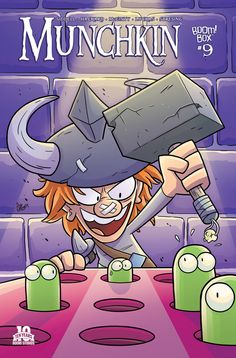 Preview: Munchkin #9,   Munchkin #9 Story: Tom Siddell & Andrew Hackard Art: Ian McGinty & Mike Luckas Cover: Ian McGinty Publisher: BOOM! Studios Publicatio...,  #All-Comic #All-ComicPreviews #AndrewHackard #Boom!Studios #Comics #MUNCHKIN #previews #TomSiddell