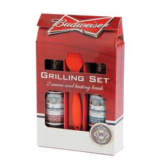 Budweiser® BBQ Basting Set - OrientalTrading.com