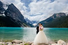 Cathy & David | Fairmont Chateau Lake Louise, Alberta » Rocky Mountain Bride