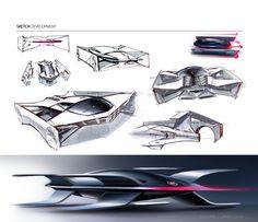 Cadillac Estill by Ondrej Jirec, via Behance