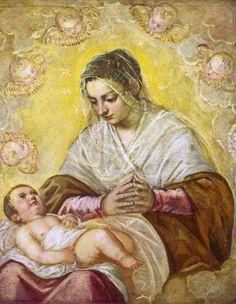 Jacopo Tintoretto (1518–1594)    La Madonna delle Stelle