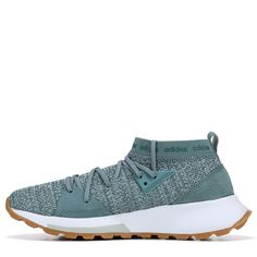 new style ea08b 4ce06 Adidas Womens Quesa Running Shoes (Raw Green)
