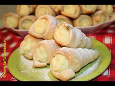 Romanian Food, Pastry And Bakery, Dessert Recipes, Desserts, Sushi, Goodies, Food And Drink, Sweets, Homemade