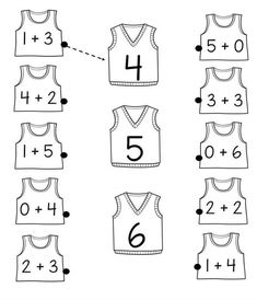 math fun math worksheet for kids Kindergarten Math Worksheets, Preschool Learning Activities, Preschool Math, Math Classroom, Kindergarten Worksheets, Teaching Math, Math Worksheets For Kindergarten, Math Math, English Worksheets For Kids