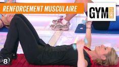 Cours gym : renfort musculaire 4 : Au sol avec des poids