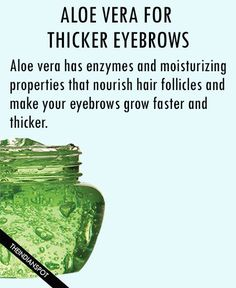 Thicker Eyebrows with egg This egg remedy goes a long way in improving the growth of hair follicles. Being packed with protein, egg yolk can also help you ma...