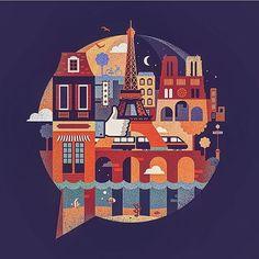 Inspiration by @lenalaballena #heydesign #illustration #graphicdesign #design