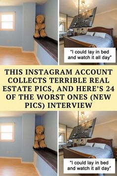 Selling a property is a big deal. I'd be running errands with a camera crew trying to take immaculate snaps, catching the tiniest dust,