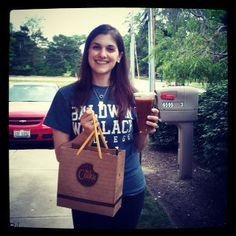 Cleveland: Swarm Car delivers iced coffee!