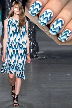 MANICURE MUSE: Band of Outsiders Spring '13 For Spring...