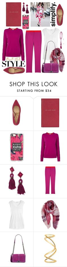 """Living"" by cherieaustin ❤ liked on Polyvore featuring Sam Edelman, Smythson, Casetify, L.K.Bennett, BaubleBar, Jenni Kayne, T By Alexander Wang, Humble Chic, Rebecca Minkoff and Maison Margiela"