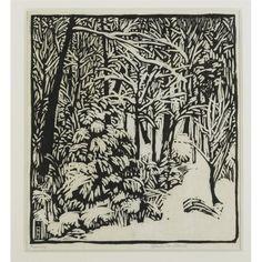 Wharton Esherick, woodcut