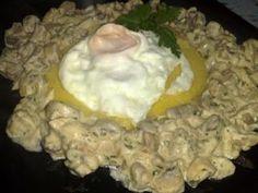 Ciuperci in sos de smantana cu mamaliguta