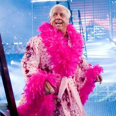 "In honor of his return at Raw Reunion this Monday, check out these photos of two-time WWE Hall of Famer ""The Nature Boy"" Ric Flair's most stylin' and profilin' robes. 2000s Kids Shows, Monday Raw, Ric Flair, Wwe Photos, Dress To Impress, Tv Shows, Legends, Instagram, Childhood"