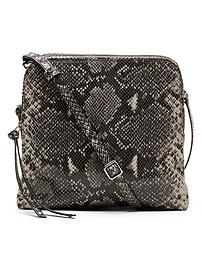 Exotic Double Pouch Crossbody