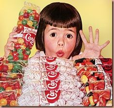 penny candy from the 50s | Candy in the 1950's, and earlier, was often a treat to a child. The ...