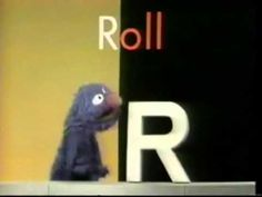 ▶ Sesame Street - Grover and the letter R - YouTube