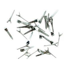 [Visit to Buy] 10pcs Hair Tools Metal Sectioning Clips Hair Prong Hair Sectioning Setting Clips Accessories #Advertisement