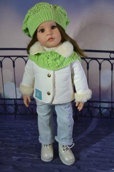 Зимние модницы. / Одежда и обувь для кукол - своими руками и не только / Бэйбики. Куклы фото. Одежда для кукол