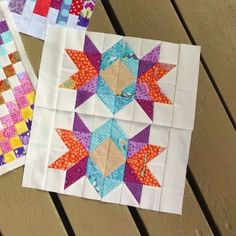 How to do Big Stitch Hand Quilting with Perle Cotton tutorial Hand Quilting Designs, Quilting Tips, Quilting Board, Machine Quilting, Quilting Projects, Embroidery Designs, Pattern Blocks, Quilt Patterns, Craft Patterns