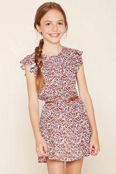 Forever 21 Girls - A textured woven dress #f21kids