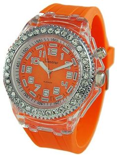 GENEVA PLATINUM Silicone Rubber CZ Light Up Watch ORANGE Watch Reviews - At Amazon Products Reviews, the privacy of our visitors is of extreme importance to us (See this article to learn more about Privacy Policies.). This privacy policy document outlines the types of personal information is received and collected by Amazon Products Reviews and how it is used.Log... - http://thequickreview.com/geneva-platinum-silicone-rubber-cz-light-up-watch-orange-watch-reviews/