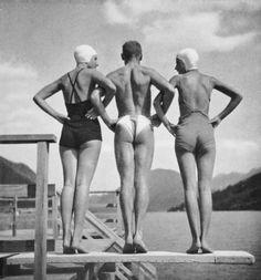 Vintage Wedgies    Photo by Rudolf Koppitz, 1941