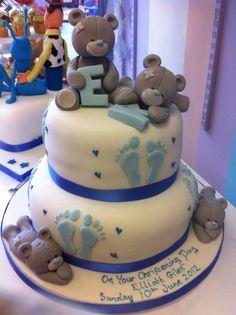 richard's cake christening cake
