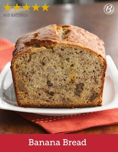 Rich buttermilk, crunchy nuts and flavorful bananas put this all-star quick bread recipe above all the rest. Don't like nuts? Mix in chocolate, peanut butter or butterscotch chips into the batter instead!