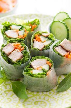 ... garlic chicken spring rolls garlic chicken fresh spring rolls more fun