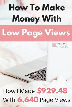 How To Make Money Blogging FAST: Want to make money & stay at home? I'm a stay at home mom and I make extra cash from both blogging & social media. This is how I used my website to build a business. These ideas will help you learn how to make money blogging FAST - even if you are a beginner! http://www.momresource.com/how-to-make-money-blogging-for-beginners-june-2016/