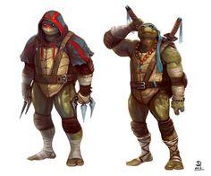 TMNT. Loyal brothers. Fierce enemies.