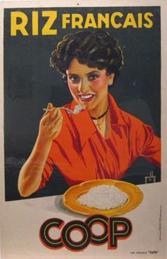 Image result for vintage french magazine woman eating