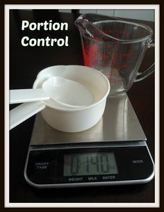 Portion Control (Part I): How to Control Your Portions at Home