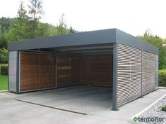 Best Indoor Garden Ideas for 2020 - Modern Metal Building House Plans, Pole Barn House Plans, Pole Barn Homes, Carport Designs, Garage Design, Exterior Design, House Design, Carport Alu, Carport Garage