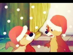 [NEW 2014] Snowy Winter Merry Christmas Chip and Dale Cartoons! - YouTube