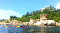 kayaking in HongKong by Tonishiu #StanleyPrison