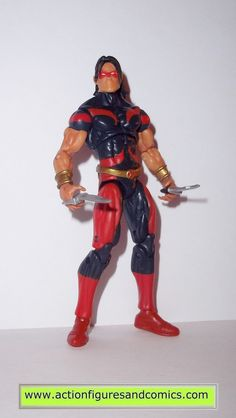 marvel universe WARPATH red blue series 2 003 hasbro toys action figures nost