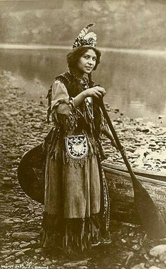Seneca woman Ah-Weh-Eyu (Pretty Flower), 1908. | The Seneca are a group of indigenous people native to North America. They were the nation located farthest to the west within the Six Nations or Iroquois League in New York before the American Revolution.