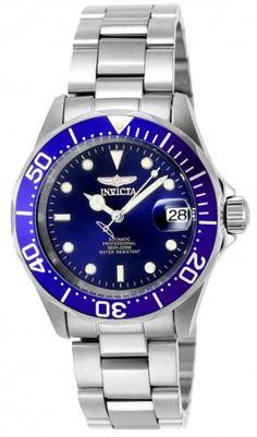 Invicta Pro Diver 9094 - Horloge - 40 mm Blauw Automatisch uurwerk