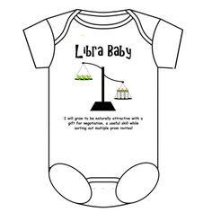 Libra Baby Onesie  $22.99