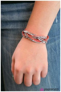 New edgy silver bracelet. #JEWELRY  http://paparazziaccessories.com/36278