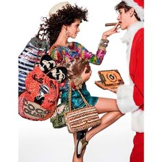 Sara Sampaio Stella Maxwell Have a Stylish Christmas in Vogue Paris ❤ liked on Polyvore featuring dolls, fantasy tube, girls, surreal and surrealism girl