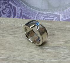 Nostalgischer Ring Silberbesteck 181 mm SR142 von Schmuckbaron