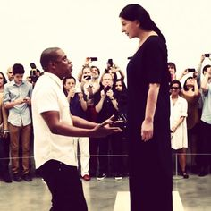 Jay Z and Marina Abramovic - The new video has some moments that are like magic.