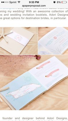 Trifold Weekend Itinerary By Suitepaper On Etsy   Programs