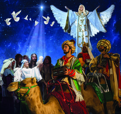 Our Christmas living nativity fills up our entire 35,000 square foot arena! #christmasatdixie