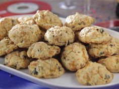 Sausage-Cheddar Biscuits : Folding sausage and cheese into the dough turns basic biscuits into a surprising starter.